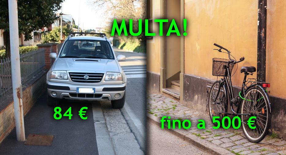 auto-bici-divieto-sosta